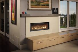 modern linear fireplace photo gas fireplaces pellet stove