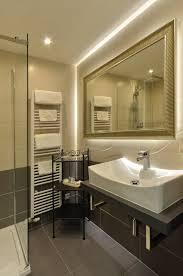 bathroom in garage deluxe apartment