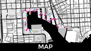 Baltimore City Map Map Light City Baltimore Baltimore Sun