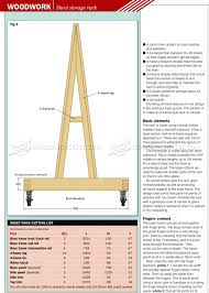 Mobile Lumber Storage Rack Plans by 180 Plywood Storage Rack Plans U2026 Pinteres U2026