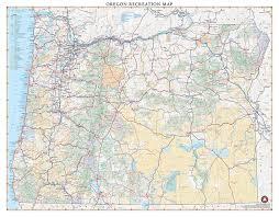 map of highway 395 oregon oregon recreation map benchmark maps