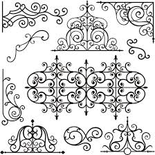 wrought iron ornamental designs wall mural pixers we live to