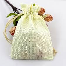 small burlap bags 10pcs 10x14cm handmade small gift bags custom printed logo