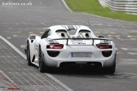 fastest porsche 918 porsche 918 spyder edit brochure leaked sets record lap time