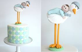 baby cake topper stork cakes for baby shower cake magazine