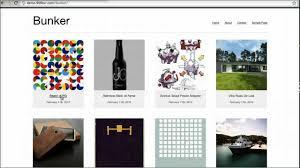 bunker an awesome free responsive portfolio wordpress theme youtube