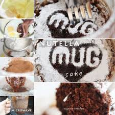 nutella cake in mug 5 minute microwave recipe eugenie kitchen
