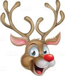 cartoon christmas reindeer stock vector art 584572274 istock
