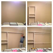 Bedroom Wall by Diy Closet Have A Plain Wall Need More Closet Space Build Your