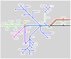 Phoenix Metro Map by I Drew My Home Network As A Metro Map Oc Crosspost R Homelab