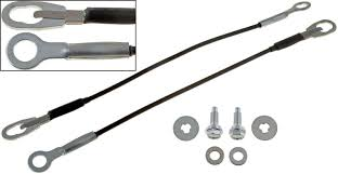 nissan frontier xe 1998 amazon com apdty 49652 tailgate cable support wire set w mounting