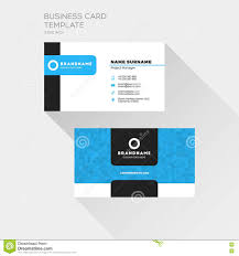 corporate business card print template personal visiting card