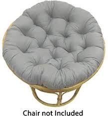 papasan chair cover gray papasan cushion cover home kitchen