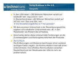enorme unterschiede in deutschland bis doing business in the usa 08 25 2009