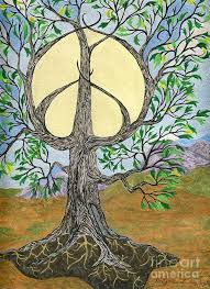 peace tree of painting by tree whisper dlynnes