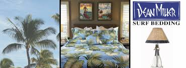 Surfer Comforter Sets Hawaiian Bedding Tropical Bedding Beach Bedding Surf Bedding