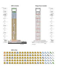 skyscraper floor plan swfcsections jpg 1152 1440 highrise pinterest skyscrapers