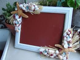 sea glass home decor cape cod inspired style frame sugar starfish raffia sea glass