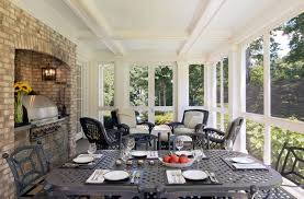 grilling porch house in potomac md traditional porch dc metro by cliff