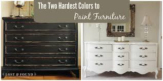 two hardest colors paint furniture lost u0026 found