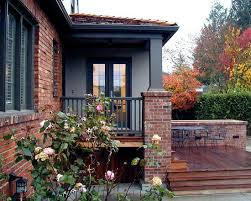 how to use gray with your home u0027s exterior white trim bricks and