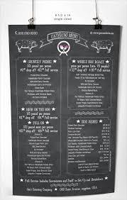 catering menu template free 22 catering menu templates free