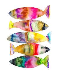 Betta Fish Decorations Best 25 Watercolor Fish Ideas On Pinterest Koi Japanese