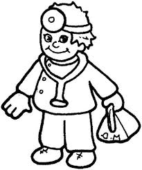 coloring pages cute community helper coloring pages kids
