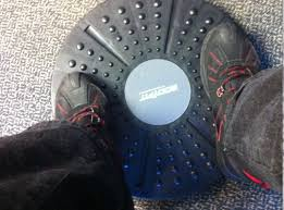 Stand Up Desk Exercises Can U0027t Have A Treadmill Desk At Work Try A Wobble Board Commonhealth