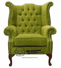 Queen Anne Wingback Chair Leather Dublin U0027 Queen Anne Chair In Gp U0026 J Baker Fern Fabric Caught My