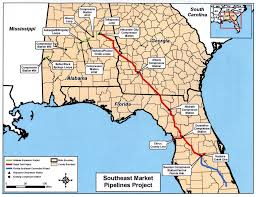 Florida Trail Map by Marcellus Utica Gas May Head To Ga U0026 Fl Via Alabama Pipeline