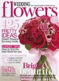 wedding flowers magazine wedding flowers magazine subscription magazine cafe