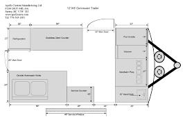 Caravan Floor Plans 12ft Concession Trailer Floor Plan B Jpg 842 595 Pixels Food