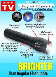 tac light flash light tac light 22x brighter black color end 11 24 2019 1 11 am