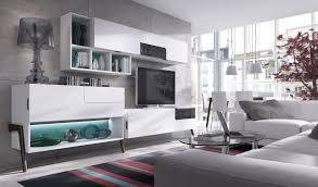 lacar muebles en blanco 006 salon moderno retro muebles algarra
