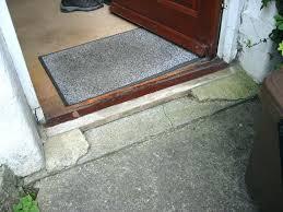 Exterior Door Threshold Installation Door Threshold Replacement Exterior Door Threshold Exterior Door