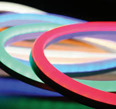 fcc compliant led lights flexible side emitting neon tube led strip lights red ip47 with ce