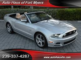 ford mustang gt convertible 2013 2013 ford mustang gt premium convertible ft myers fl for sale in