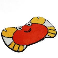aliexpress com buy nicerug super cute child cartoon crab soft