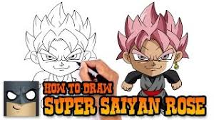 draw android 17 dragon ball super safe videos kids