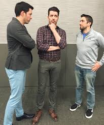 Drew And Jonathan The Time We Met The Property Brothers A Cleveland Home And