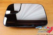 dodge ram tow mirror glass replacement oem mopar 5191035aa towing mirror glass power heated driver left