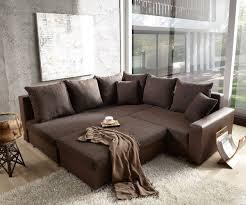 sofa mit ottomane lavello 210x210 dunkelbraun ottomane links hocker möbel