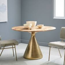 Elm Dining Table Silhouette Pedestal Dining Table Mango West Elm For The