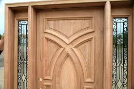 front wood doors with glass exterior wood doors with wrought iron glass sidelights