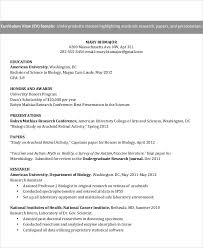 Undergraduate Resume Sample For Internship by 10 Internship Curriculum Vitae Templates 10 Free Word Pdf