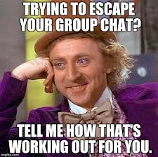Chat Memes - my group chat is crazy man imgflip