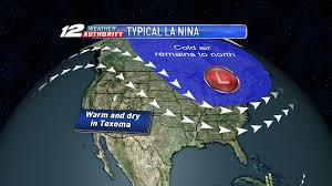 Jetstream Map A Warm Texoma Winter But Intense Cold Too How