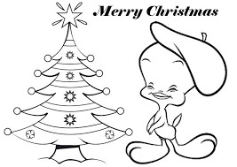 tweety bird christmas coloring pages coloring kids kids