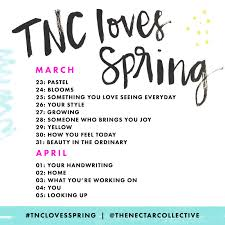Challenge Tips Tnclovesspring Starts Today Participation Tips Melyssa Griffin